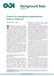 finance for emergency prep