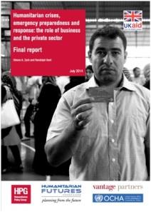 ODI humanitarian crises role of private sector